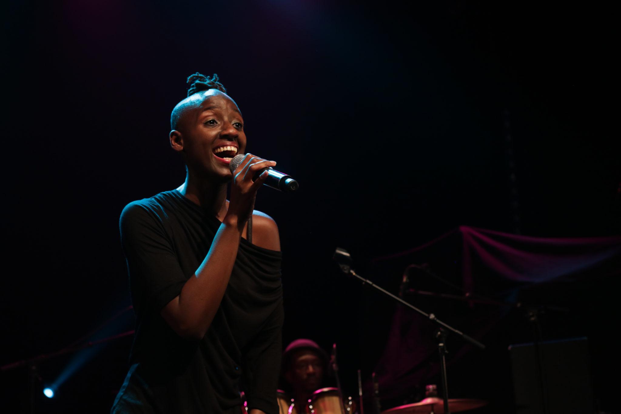 Gasandji en concert